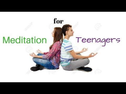 (48) Meditation for Teenagers Stress & Anxiety - Guided Meditation for Teens - YouTube