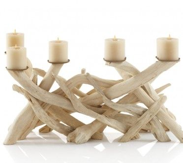 candle 3: Ideas, Driftwood Candelabra, Vivaterra, Beachhous, Beaches Houses, Accessories, Products, Photo, Driftwood Candles Holders