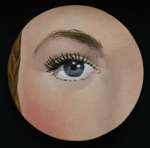 Rene Magritte, The Eye, 1932 and 1935