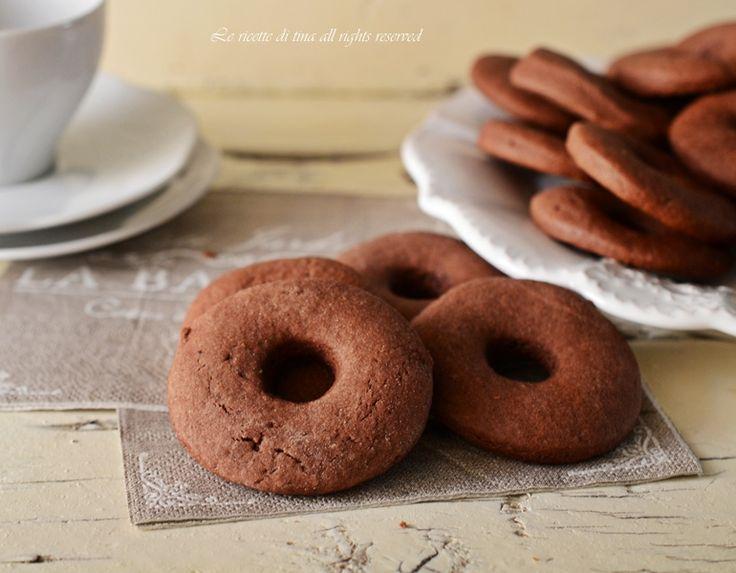 Biscotti panna e cacao,morbidi e golosi ottimi per colazione e merenda di tutta la famiglia