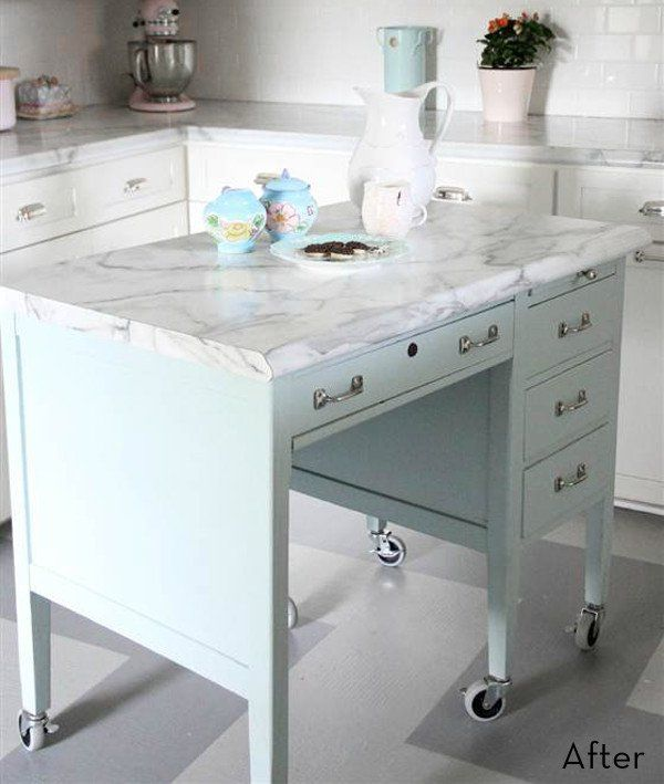 Kitchen Island Made From Old Desk: Best 25+ Old Desks Ideas On Pinterest