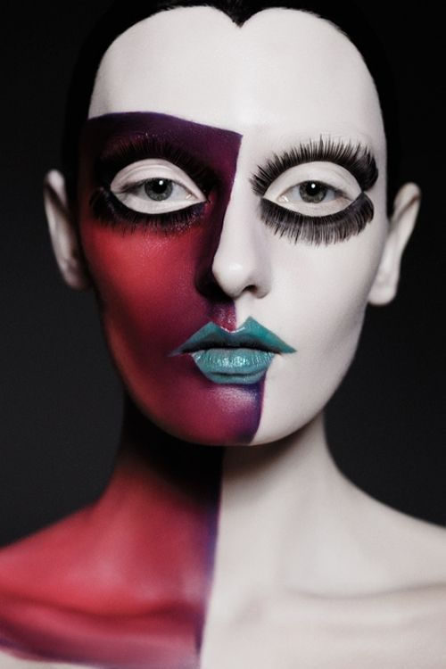 Disin Makeup: 25+ Best Ideas About Half Face Makeup On Pinterest