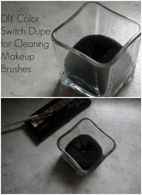 DIY Color Switch Dupe for Cleaning Makeup Brushes