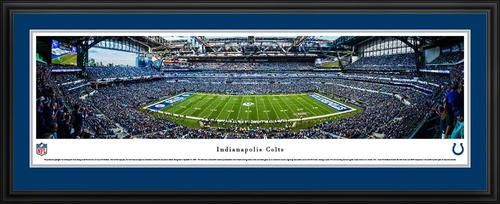 Indianapolis Colts Panoramic Picture Deluxe Matted Frame