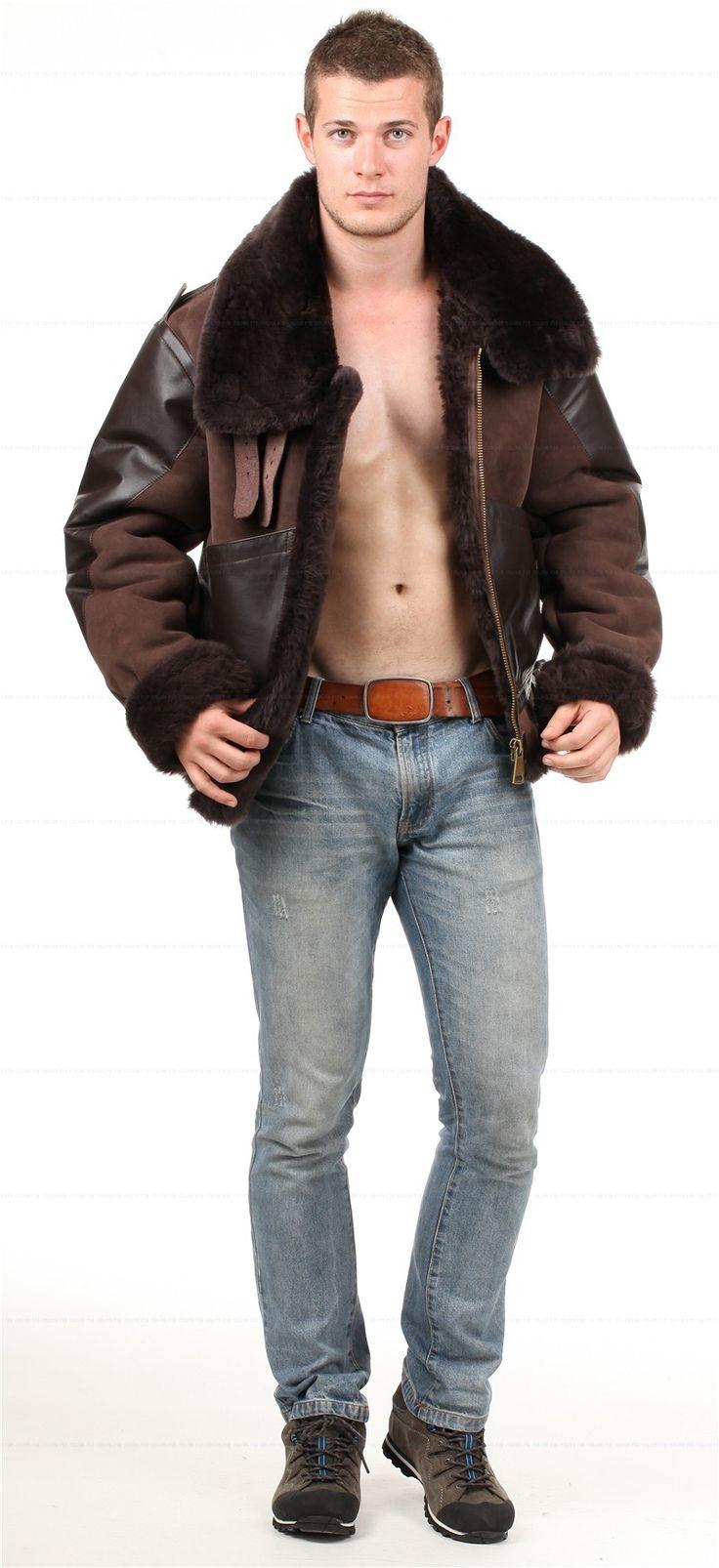 B3 sheepskin jacket