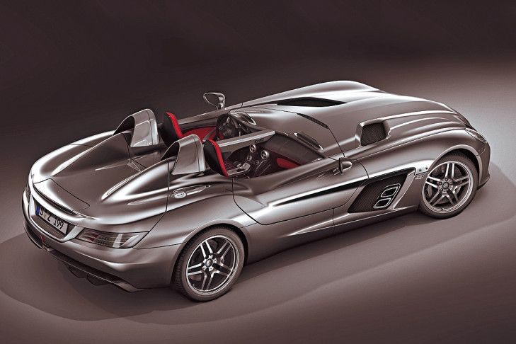 Mercedes-Benz SLR McLaren Z 199 Stirling Moss