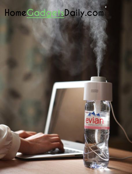 Amazing USB Portable Humidifier #uniquehumidifier #humidifier #homegadgets #portabletool #usbhumidifier