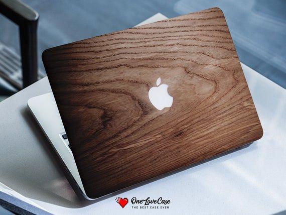 Brown wood texture macbook protective plastic case macbook Pro retina 15 case macbook 15 pro 2016 Ma