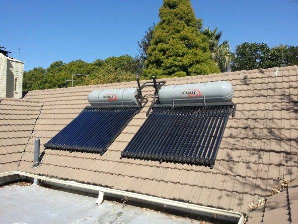 300lt High Pressure Solar Geyser Installation