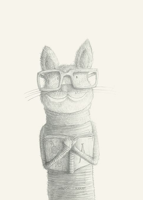 Mr Miao #cat#animals#glasses#books by Leo Bellei  https://flic.kr/p/DxCRrT