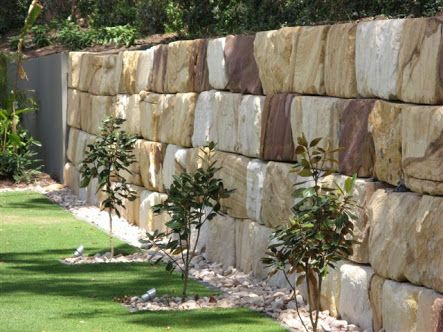 sandstone block walls - Google Search