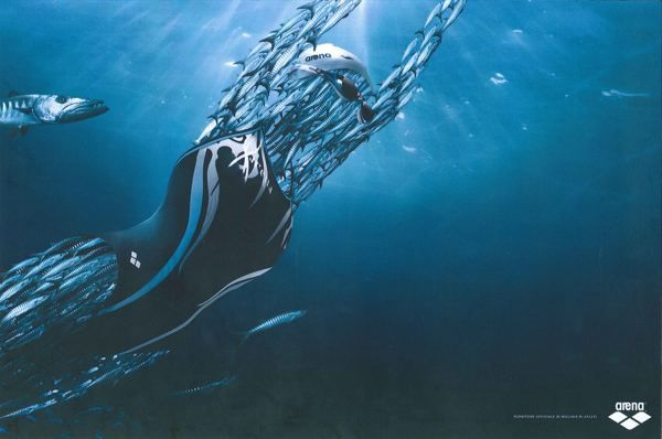 Arena Water Instinct (Print) by Paolo Platania, via Behance