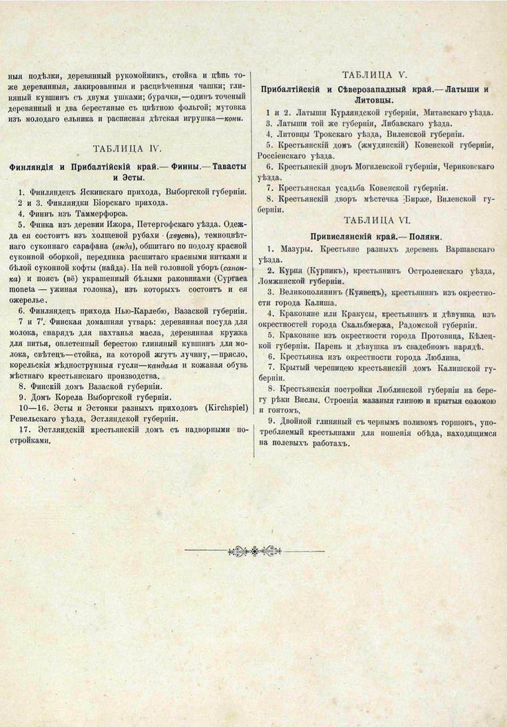 Русские народы - описание к Финнам, Прибалтам и Полякам