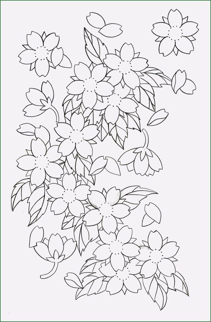 12 Ideal Japanische Kirschblüten Tattoo Vorlage In 2020 ...