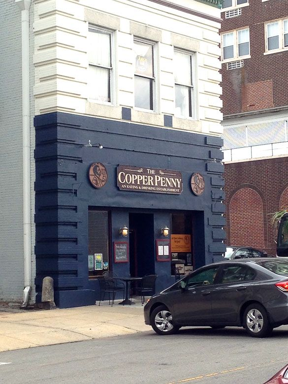The Copper Penny - American pub in downtown Wilmington, NC