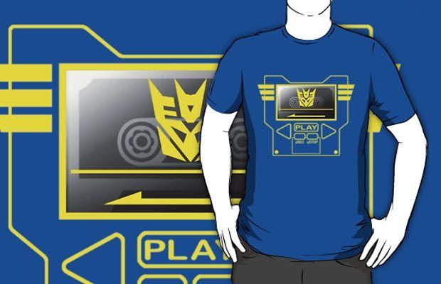Soundwave Costume T-Shirt Get yours here: http://tshirtonomy.com/go/soundwave