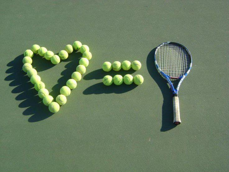 tennis = love #tennis #love www.bitememore.com
