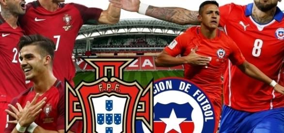 Watch Portugal vs Chile - FIFA Confederations Cup 2017 - live stream free on 28-June-2017.