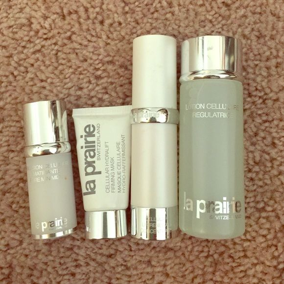 Bundle Of La Prairie Products Gently Used Oil Control Products Minimize Pores La Prairie
