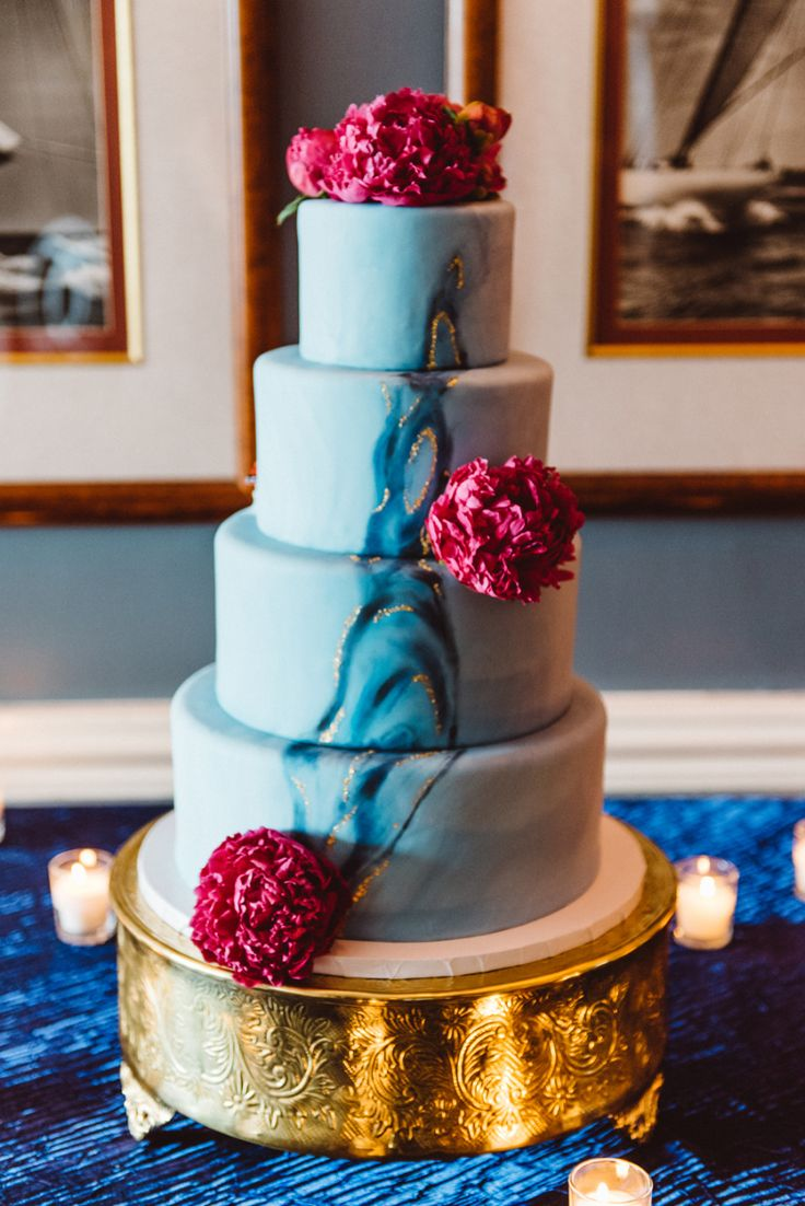 wedding cakes los angeles prices%0A A yacht club wedding with raspberry peonies  Yes  please