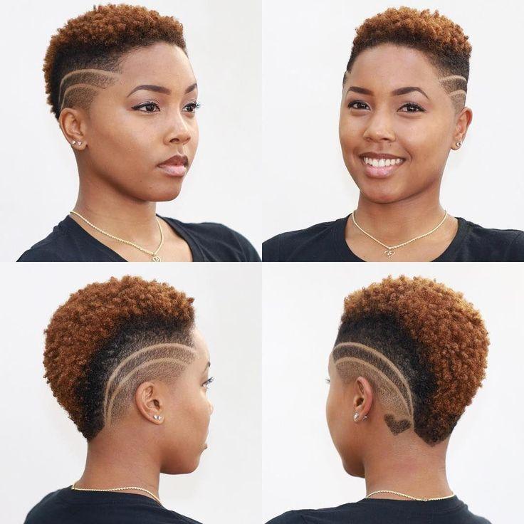 coiffures courtes naturelles Shaved Pages #easyhairdos   – Women's Hairdos