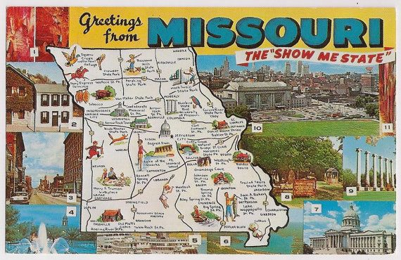 Missouri Attractions Map Missouri Map - Show me a map of missouri