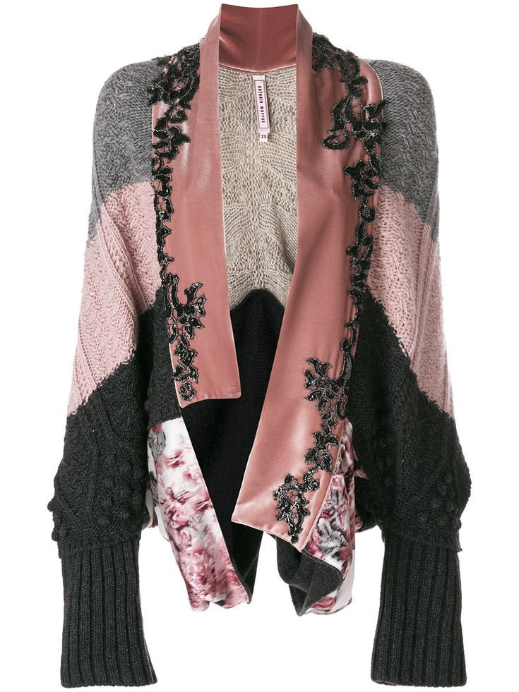 Antonio Marras asymmetric cardigan