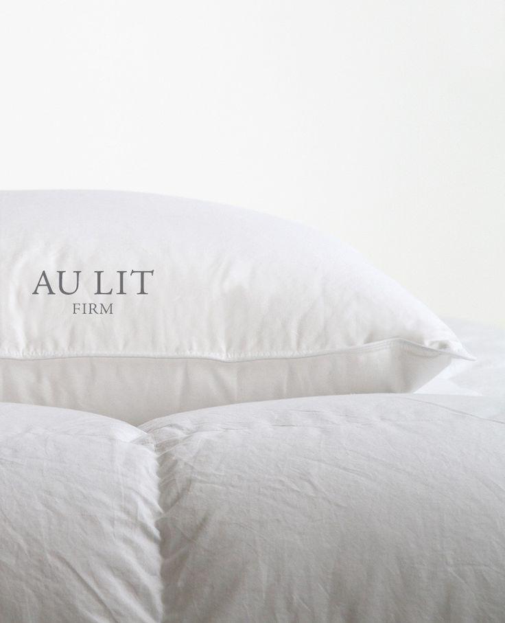 Au Lit Firm Goose Down Pillow