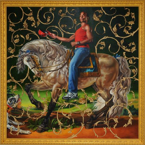 richard prince and kehindle wiley By richard johnson  artwork by prince charles on display in scotland   sources say artist kehinde wiley — who painted the former.