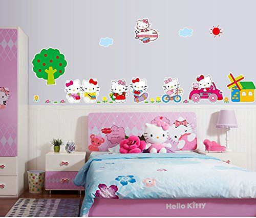 106 best diy home decoration ideas images on pinterest for Kitchen cabinets lowes with kids vinyl wall art