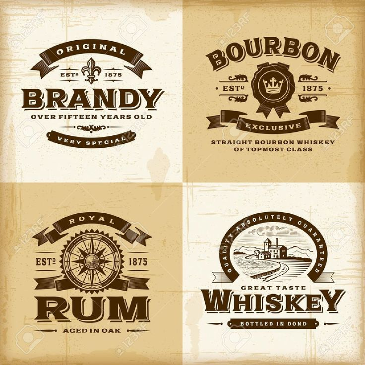 39 Awesome vintage labels free images                                                                                                                                                                                 More