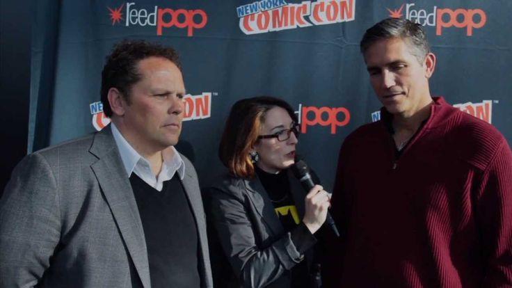 Jim Caviezel does (Christopher Walken) Impression; Person of Interest In...