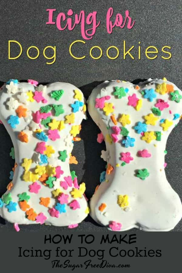 Icing For Dog Cookies 4 Ingredient Icing For Dog Cookies Easy