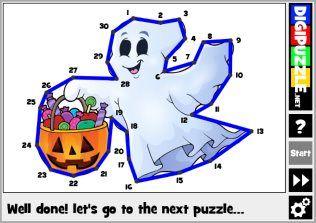 Halloween Line Puzzles