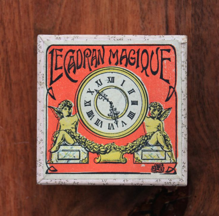 Antique French victorian magic trick/brain teaser game : the magic clockface! by LaChineuseFrancaise on Etsy