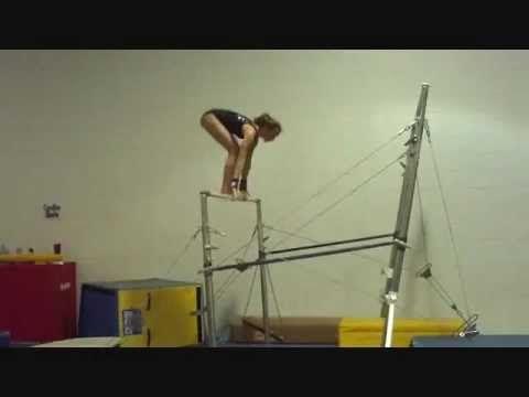 USAG/ AAU Gymnastics Level 5 Uneven Bar Routine Tutorial