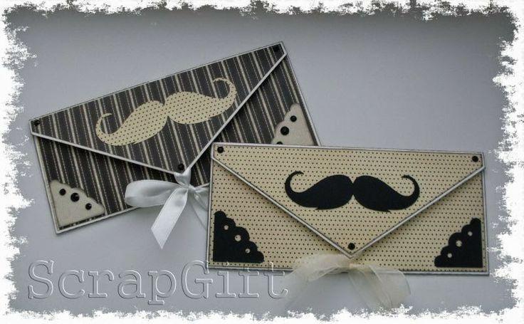 ♥ Кусочек Счастья ♥: Мужские конвертики для денежного подарка.