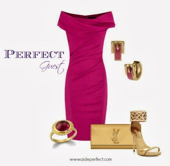 Perfect Guest: Glamorous Wedding Guest Outfit by Leila of A Taste of Glamour