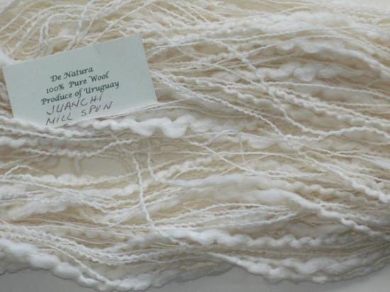 Artesanum: lana de oveja, hilado fino