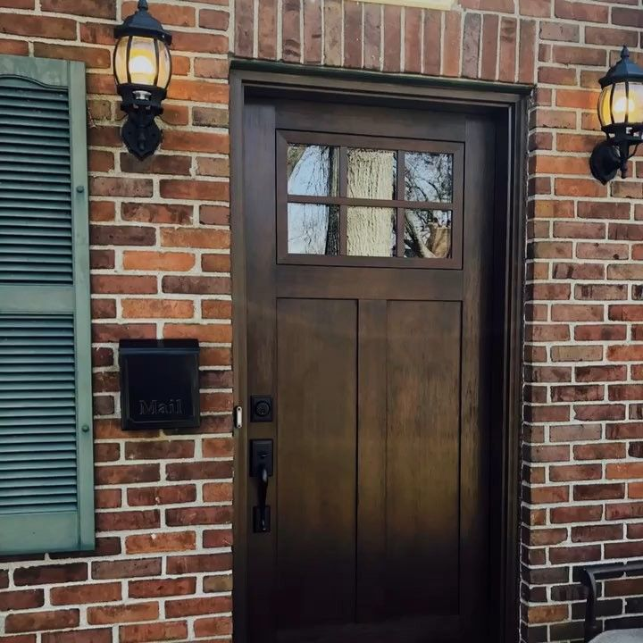We Just Love Updating Louisville S Older Homes Check Out The New Door On This 1940s Era Home Sensational Door Store And Windows Doorstoreandwindows In