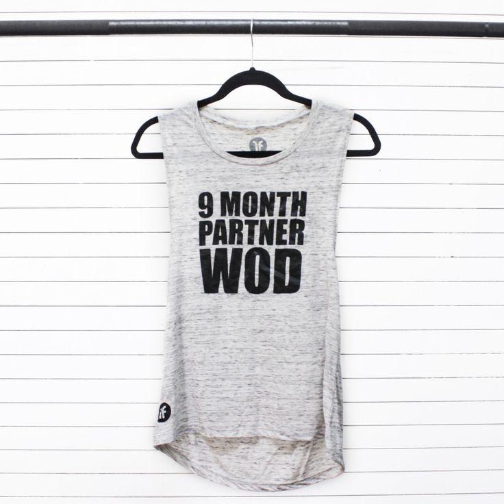 9 Month Partner WOD - Maternity Workout Tank – Fashletics