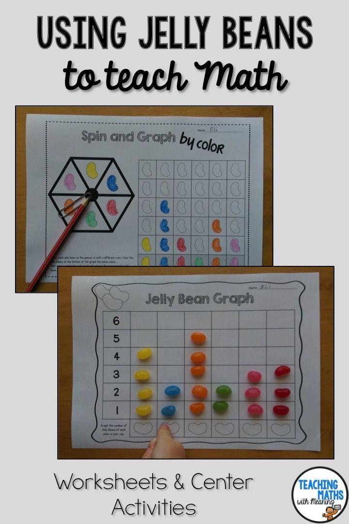 Jelly Bean Maths Activities Jelly Belly Math Activities Math Fun Math Worksheets