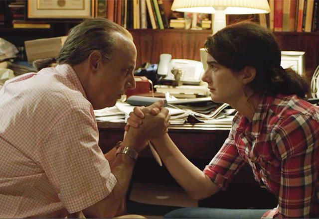 Gaby Hoffman would definitely beat the crap out of Jeffrey Tambor in a 3-day cave fight.