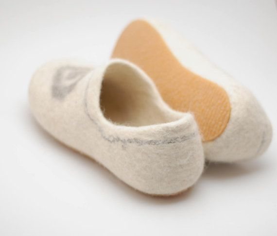 Natural rubber soles handmade for my felted clogs  by WoolenClogs, $14.00