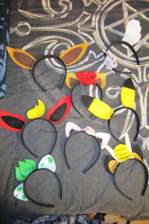 Pokemon ear headbands