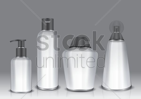 cosmetic container collection
