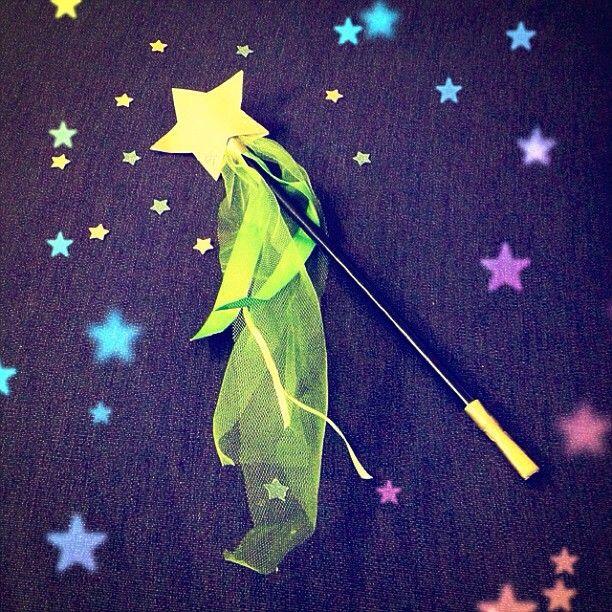 Un Mini #DIY Féérique : une jolie baguette magique !