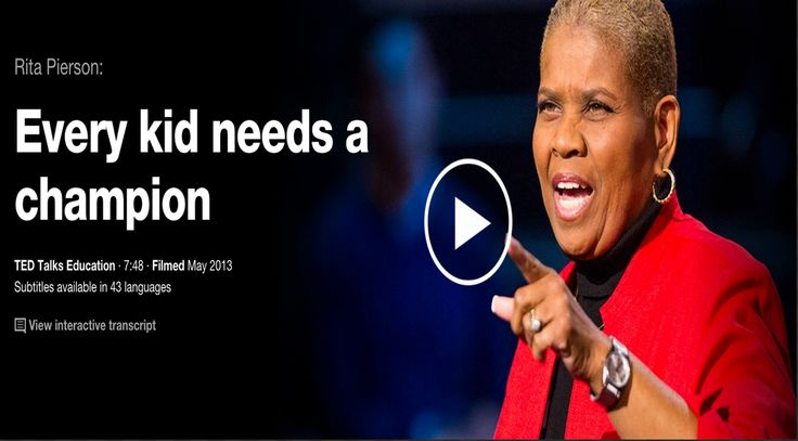 The 5 Best TED Talks for Teachers ~ Educational Technology and Mobile Learning