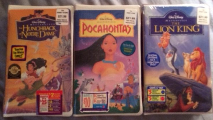 25  best ideas about disney vhs tapes value on pinterest