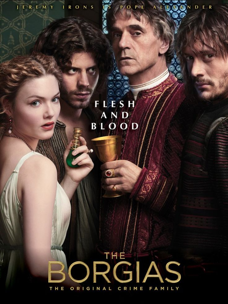 An amazing television mini-series with a terrific cast leading off with Jeremy Irons and telling the story of Alexander VI - Rodrigo Borgia